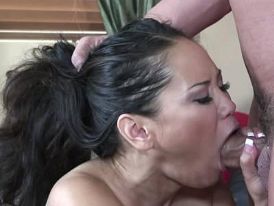 Mund penis tief im Der Po